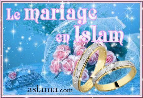 le mariage en islam. Black Bedroom Furniture Sets. Home Design Ideas